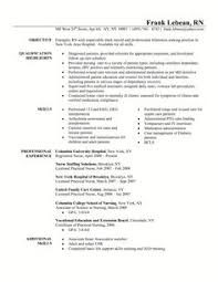 Sample Resume For A Job by Sample Resume For Someone Seeking A Job In Investment Banking With