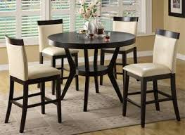 High Dining Room Tables And Chairs Modern Counter Height Dining Table Nurani Org