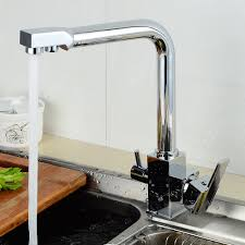 kitchen faucet 3 way water filter and cold mixer sink taps