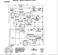 electrical wiring lawn mower tractor ignition wiring diagram