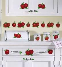 apple decals for kitchen