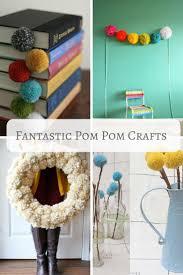 12 fantastic pom pom crafts u0026 diy pillar box blue