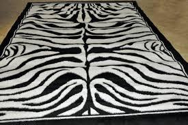 Zebra Area Rug 8x10 Brown Zebra Area Rug Home Design Ideas