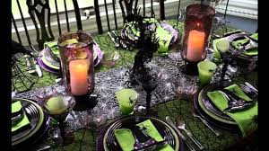 best halloween table decorating ideas youtube
