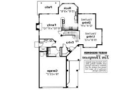 Mediterranean House Floor Plans Mediterranean House Plans Santa Clara 50 003 Associated Designs