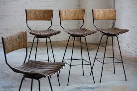 contemporary swivel bar stools with back wood latest
