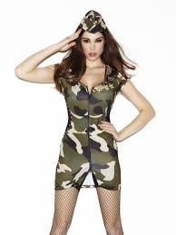 ann summers womens major tease army costume fancy dress