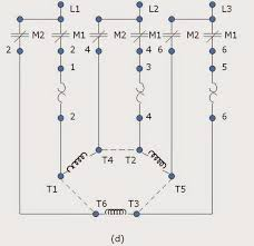 wiring diagram of wye delta motor