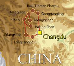 Tibetan Plateau Map China Sichuan And The Tibetan Plateau Tropical Birding