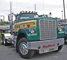 dodge semi trucks dodge big horn truck tractor simply awesome