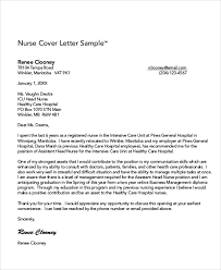 Example Nurse Cover Letter Free by 8 Nursing Cover Letter Example Free Sample Example Format