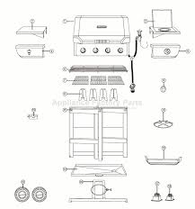 810 1750 S by Inspirations Brinkmann Smoker Parts Gas Grill Home Depot