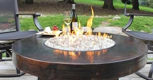 Fire Pit Lava Rock by Propane Fire Pits With Glass Rocks Fire Pit Ideas