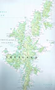 Shetland Islands Map Weaving With The Shetland Tweed Company Eric Musgrave