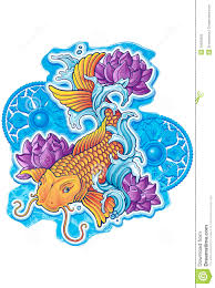 asian koi with ornaments royalty free stock photo image 29926395