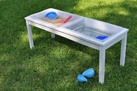 how to build a sensory table how to build your own water sand sensory table for play sand