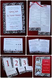 Red And Black Wedding Invitations Red U0026 Black Floral Vine Pattern Wedding Invitations And Stationery