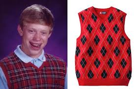 Bad News Brian Meme - bad luck brian internet meme halloween costume clevver
