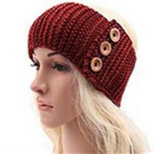 crochet hairband top quality autumn winter women ear warmer headwrap empty crochet
