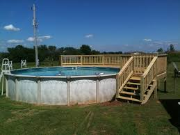 round pool deck designs above ground pools prices above ground