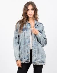 Light Jean Jacket Oversized Vintage Washed Denim Jacket Jean Jacket U2013 2020ave