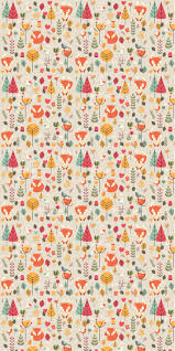 fox wallpaper removable wallpaper wallpaper peel and stick