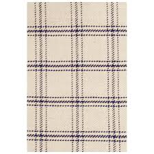 Plaid Area Rug Plaid Area Rugs Cotton Wool Buffalo Thedwelling Info