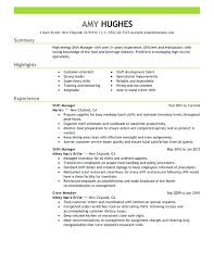 General Manager Resume Template Resume Manager Sample Shift Manager Resume Sample General Manager