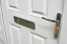 White Front Door Victorian Left Hand White Composite Front Door Flying Doors