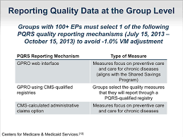 pqrs registries the physician quality reporting system and value based payment