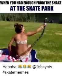 Skating Memes - when you had enough from thesnake at the skate park hahaha
