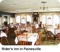 thanksgiving dinner at rider s inn in painesville ohio via lake
