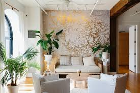 wallpaper home interior calico wallpaper s envy inducing airy hook loft sight unseen