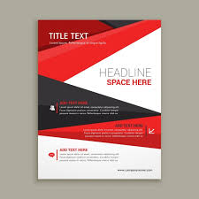 business brochure design business brochure with brown tones and