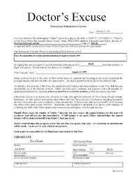 fake doctor excuse for work using a doctor u0027s excuse form for work