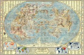 Jerusalem World Map by Jerusalem At The Very Centre Of The World Bunting U0027s Map And