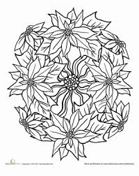 christmas mandala coloring pages coloring pages ideas