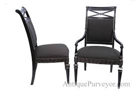 Dining Room Chair Covers With Arms Black And Silver Designer Upholstered Dining Room Chairs