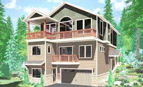 Home Plans With Basement House Plan Walkout Basement Plans Hillside Home Fancy Corglife