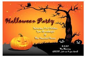 Halloween Party Cards Disneyforever Hd Invitation Card Portal