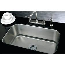 Undermount Kitchen Sink Reviews Stainless Undermount Sink Large Single Bowl Stainless Steel