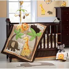 Safari Nursery Bedding Sets by Baby Nursery Fancy Baby Nursery Room Decoration With Dark Brown