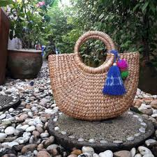 straw bag waterhyacinth bag handbag u2013 wicker thailand