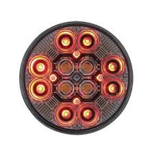 4 inch round led tail lights round combo light with 12 led 4 inch stop turn tail light 16