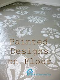 Remodelando La Casa Old Stone by Remodelando La Casa Diy Painted Designs On Floor