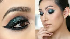 dramatic cat eye makeup tutorial youtube