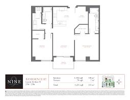 icon brickell floor plans nine brickell 999 sw 1st avenue miami fl 33130