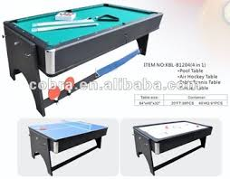 pool and air hockey table reversible 4 in 1 fold pool table air hockey table tennis table