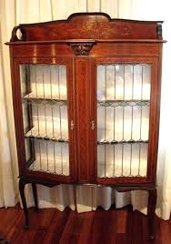 antique display cabinets with glass doors antique display cabinets with glass doors antique display cabinet 2