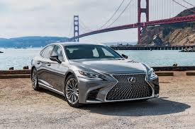 dark green lexus with the all new 2018 ls lexus reimagines global flagship sedan